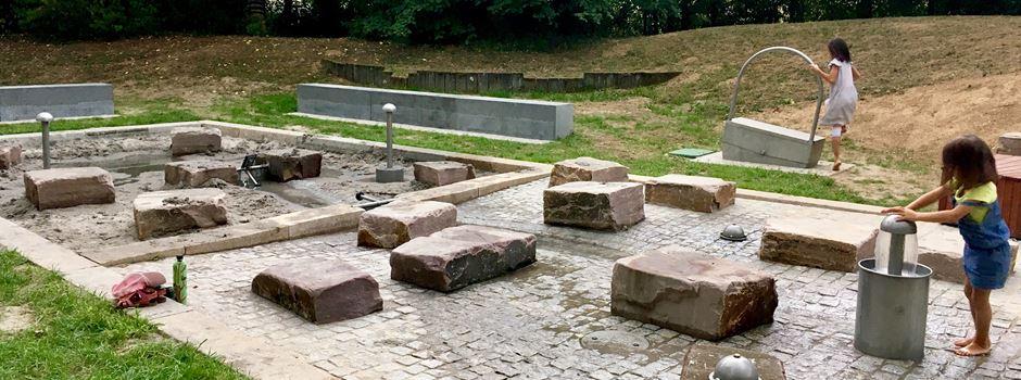 Wiesbadener Kinder wünschen sich einen Wasserspielplatz