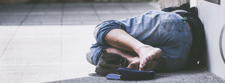 Wiesbadener Obdachlose leiden unter der Hitze