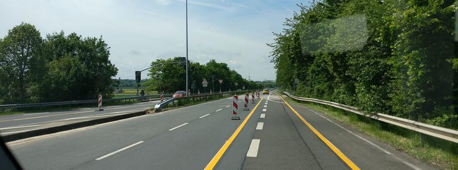 Nach Unfall: Saarstraße vollgesperrt