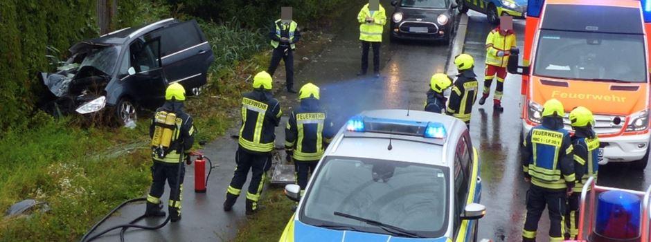 Verkehrsunfall auf der B64