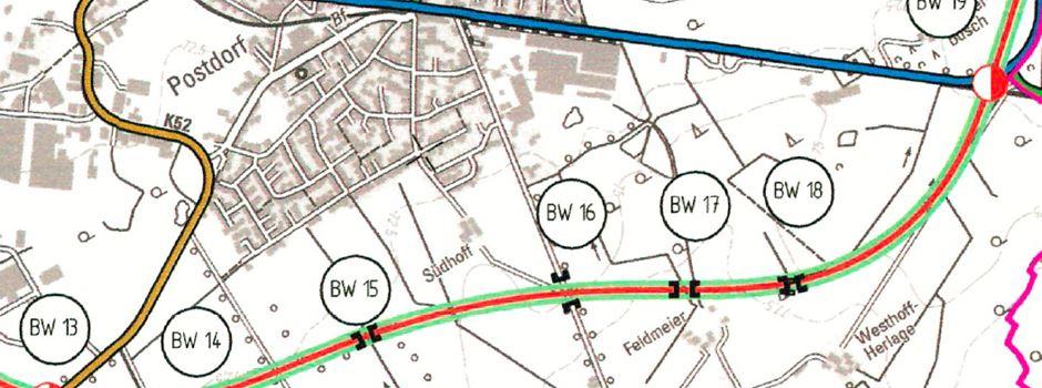 Leserbrief: B64n - 19 Brückenbauten im Gemeindegebiet