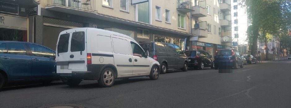 Verkehrschaos in der Moritzstraße