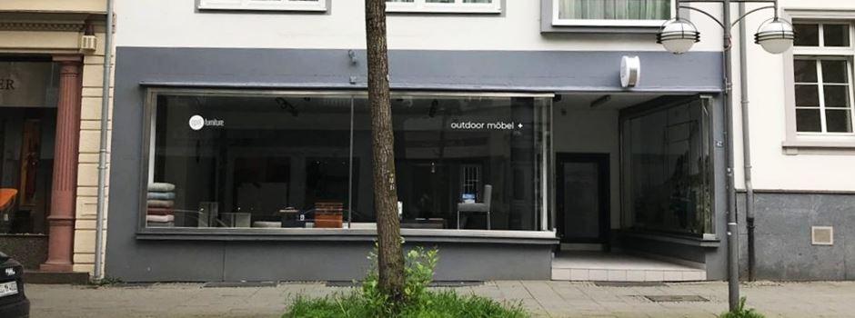 In der Taunusstraße gibt es einen neuen Laden für Gartenmöbel