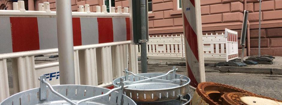 Fünf Monate Kanalarbeiten in der Herderstraße