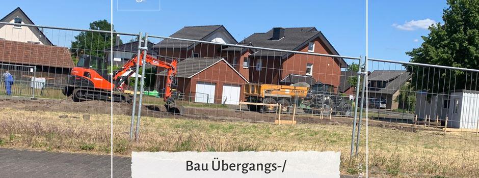 Bau Übergangs-/ Obdachlosenwohnheim gestartet