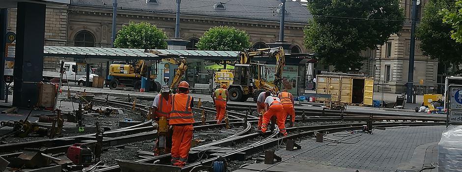 So geht es mit den Gleisarbeiten am Hauptbahnhof voran