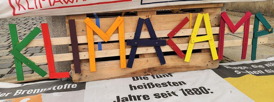 Darum will die Stadt Augsburg das Klimacamp räumen
