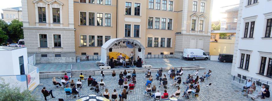 Ein buntes Programm: Augsburger Sommerbühne im Annahof 2021