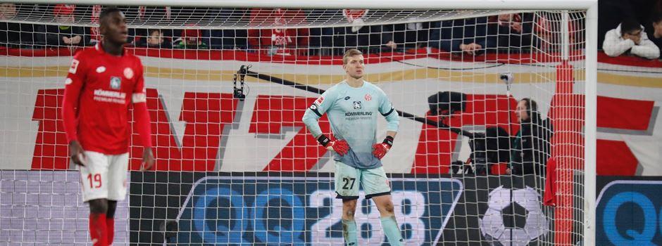 Trotz Überzahl: Last-Minute-Niederlage für Mainz 05