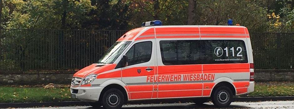 Feuer greift über: Großeinsatz für Wiesbadener Feuerwehr