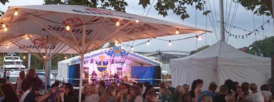 Schierstein steht Kopf: Am Wochenende ist wieder Hafenfest