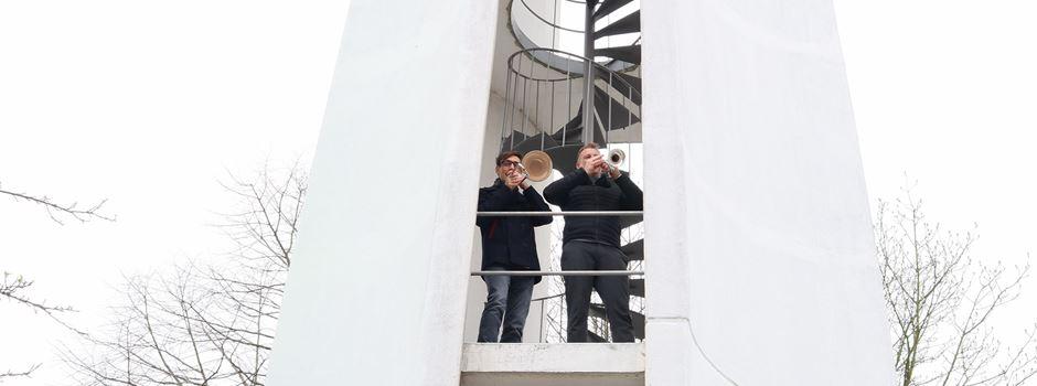 Ostersonntag: Turmbläser in der Niederkasseler Auferstehungskirche