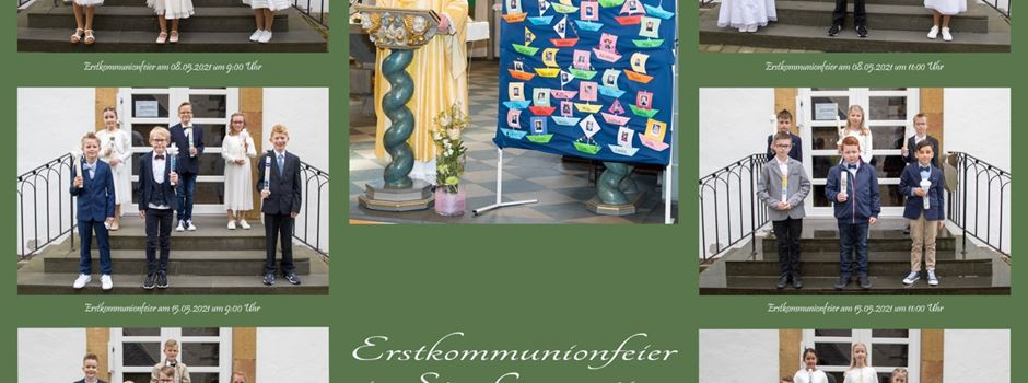 36 Kinder feiern Erstkommunion in Clarholz