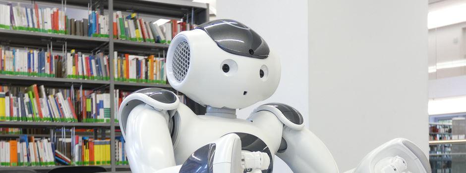 Bei der Stadt sind jetzt Roboter im Einsatz