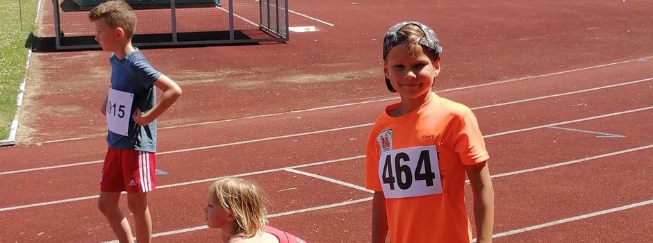 Achtjähriger Georg Jung trumpft mit Fabelkreisrekord über 800 Meter auf