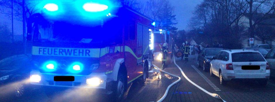Finthen: Wohnung steht in Flammen – zwei Verletzte