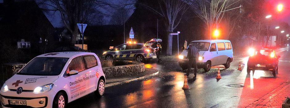 Ranzel: Unfall im Kreuzungsbereich - Vorfahrt missachtet