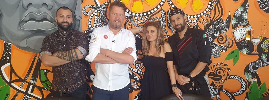 Star-Koch Mike Süsser für TV-Show zu Gast in Wiesbadener Restaurant
