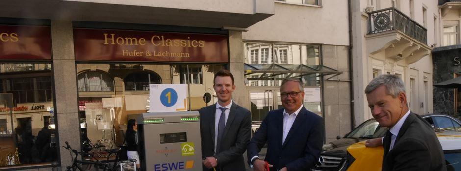 20 neue Ladesäulen für Elektroautos in Wiesbaden