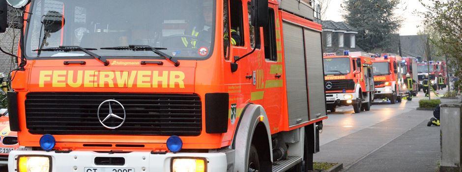 Kellerbrand in der Meerwiesenstraße