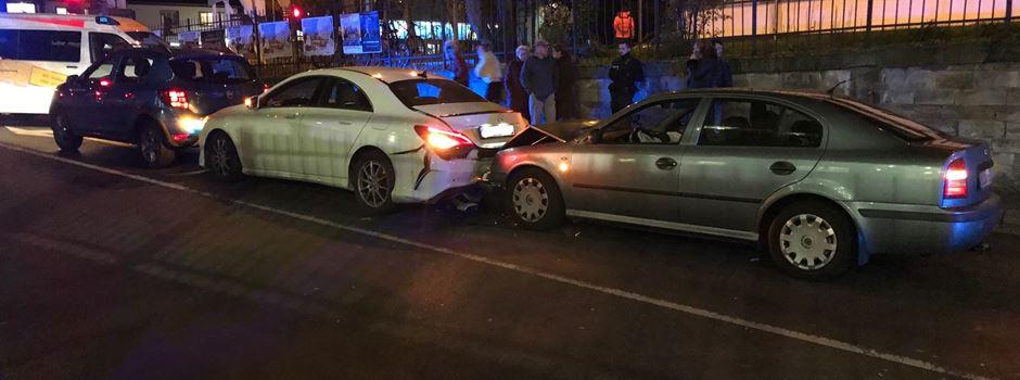 Unfall: Goethe-Tunnel kurzzeitig gesperrt
