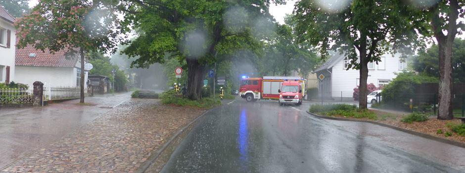 Arbeitsreiches Wochenende für Feuerwehren