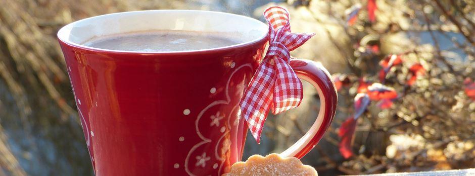 Kaffeetrinken in der Teestube