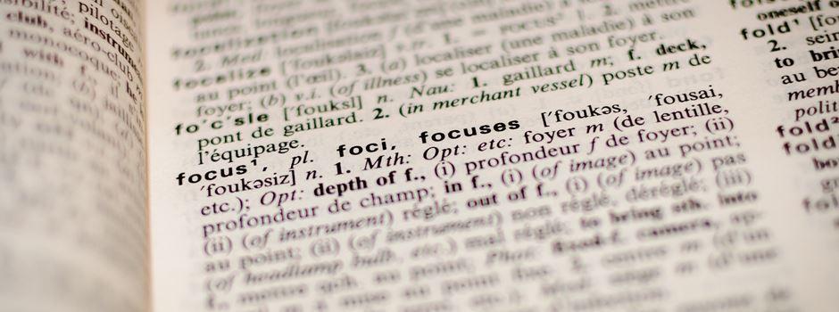 Wie füge ich dem Wörterbuch neue Wörter hinzu?