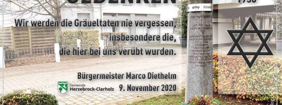 Kranz der Gemeinde Herzebrock-Clarholz zum Gedenken an Novemberpogrom