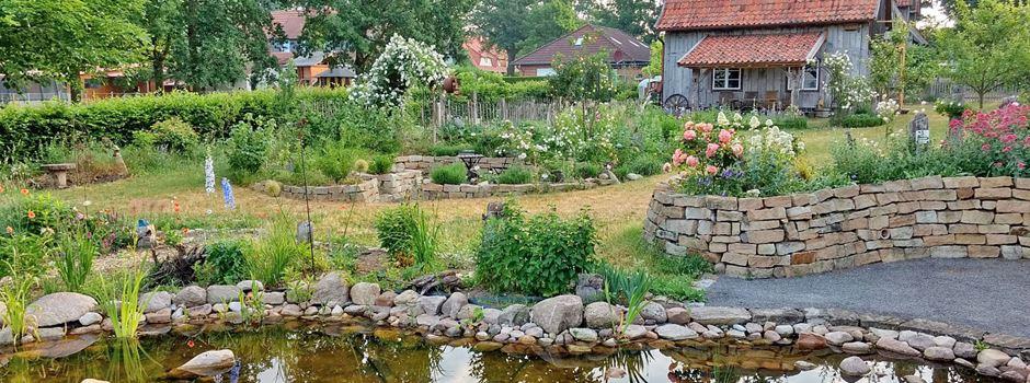 Fünf Gärten geöffnet