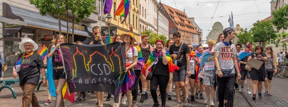 Christopher-Street-Day in Augsburg bekommt prominenten Paten