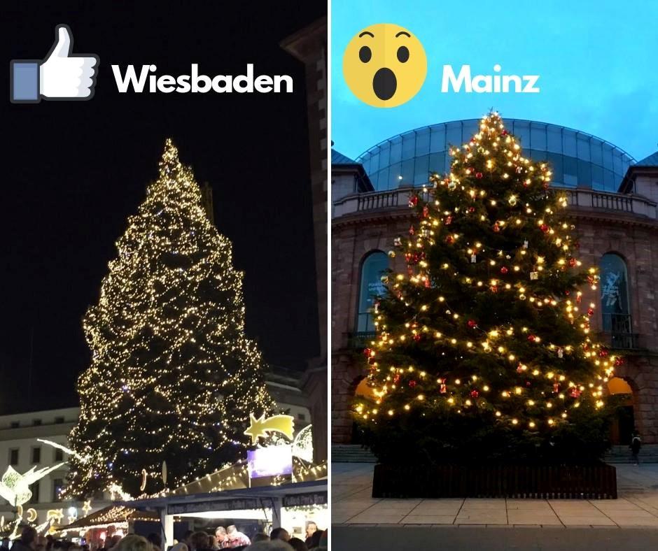 Weihnachtsbaum wiesbaden erbenheim