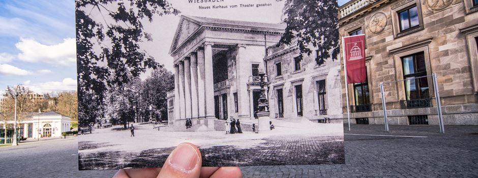 Fotograf verbindet die Geschichte Wiesbadens mit der Moderne