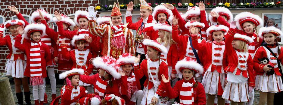 Karnevalszug in Uckendorf - klein aber fein