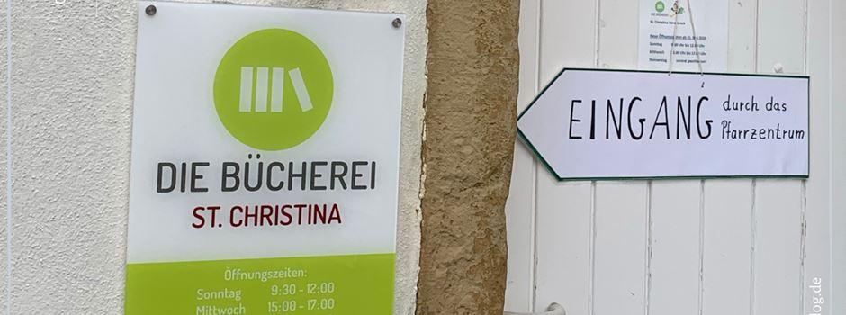 Bücherei St. Christina Herzebrock bleibt weiterhin geöffnet!