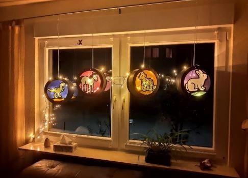 """Macht mit bei der Aktion """"Laternen Fenster"""""""
