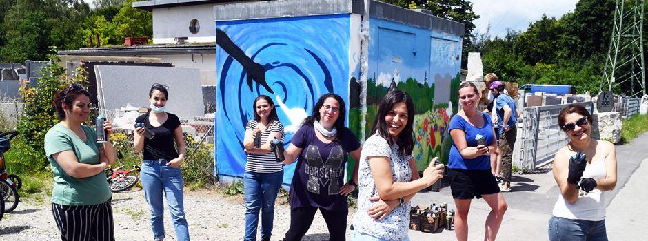 Graffiti ganz legal: Augsburg wird immer bunter
