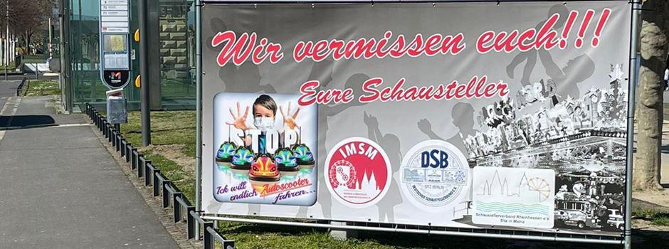 Rührende Botschaft: Mainzer Schausteller vermissen Gäste