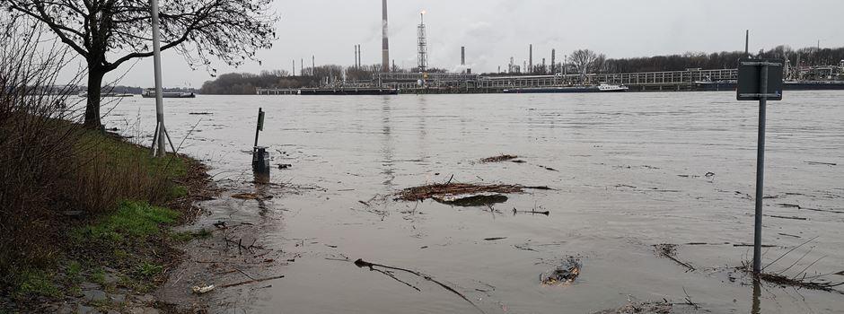 Hochwasser in Niederkassel