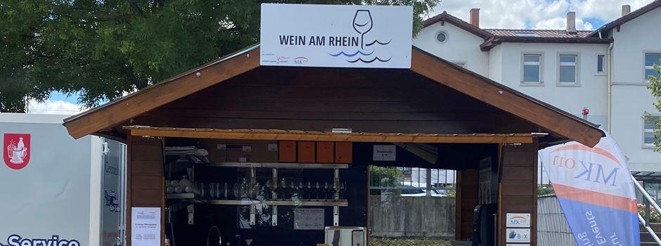 """Neuer Weinprobierstand """"Wein am Rhein"""" ab dem 3. Juli in Nierstein"""
