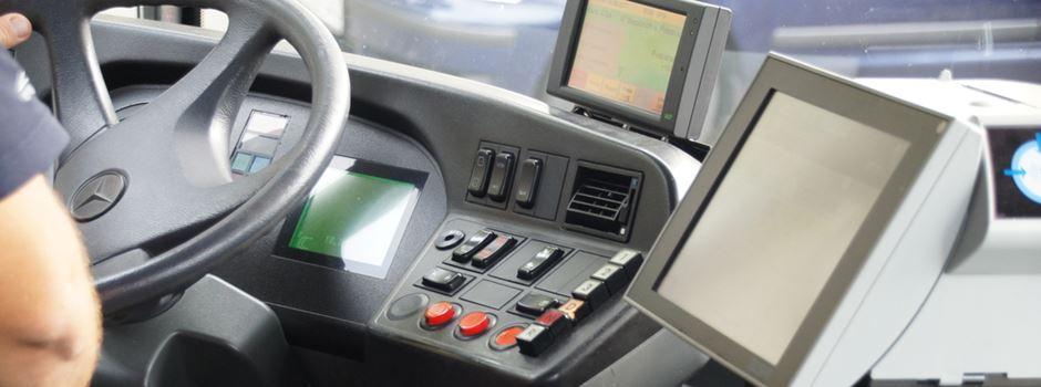 Haben Busfahrer ein 'geheimes Verspätungs-Display'?