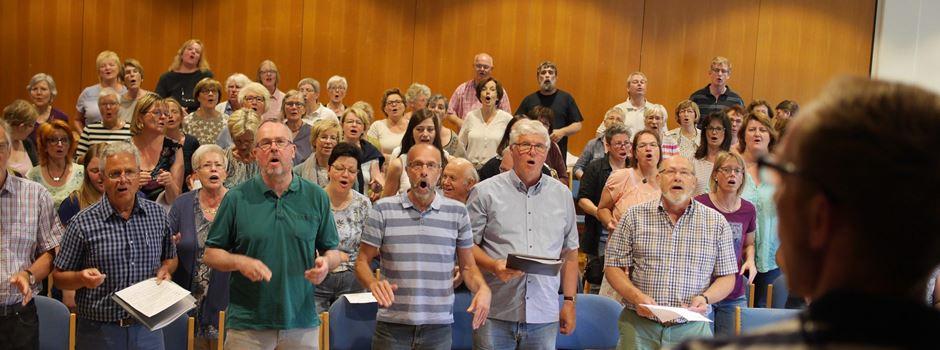 Rainbow-Gospelchor singt auf dem Kreiskirchentag