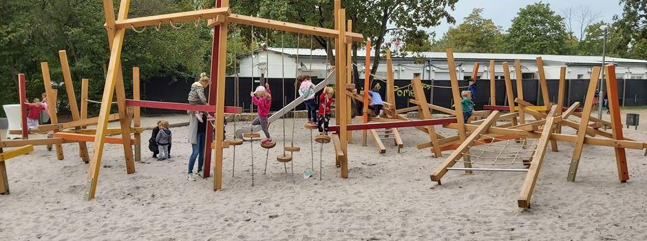 Wiesbaden hat einen neuen Abenteuerspielplatz