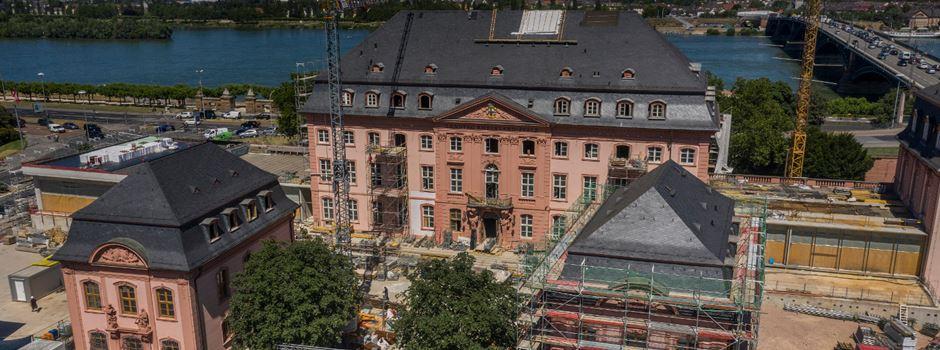 Richtfest am Mainzer Deutschhaus: Die letzten Nägel sind drin
