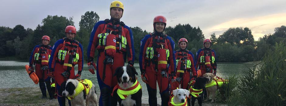 Mutige Lebensretter: Die vierbeinigen Helfer der Wasserwacht Augsburg