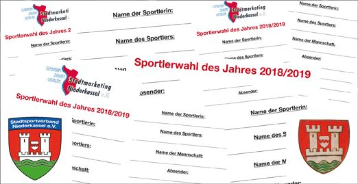 """Niederkassler """"Sportler des Jahres"""" 2019 gesucht"""