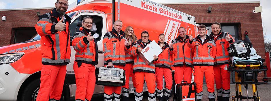 Neuer Rettungswagen in Clarholz im Einsatz