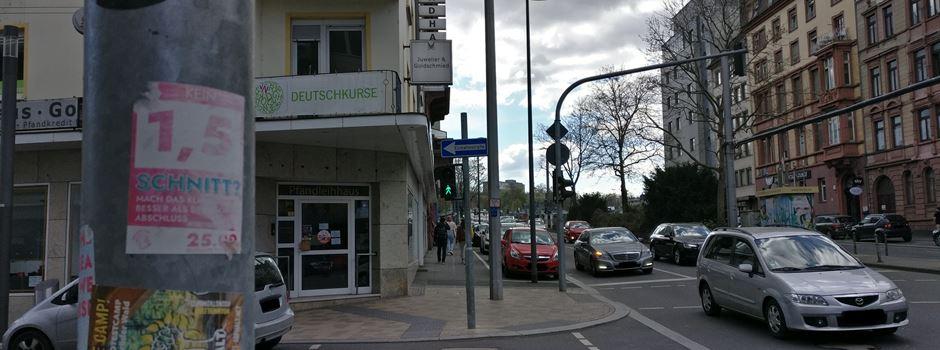 Verkehr in der Parcusstraße wird massiv eingeschränkt
