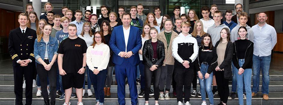 Besuch im Bundestag