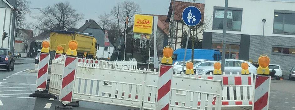 Straßenbauarbeiten in Herzebrock-Clarholz